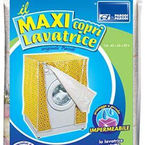 Coprilavatrice universale 60x60x85 colore blu coprilavatrice per lavatrici con apertura tradizionale telo proteggi lavatrice coprilavatrice universale in PEVA copertura di lavaggio art 232