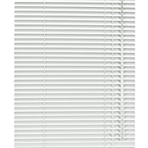 Deco Company 233006 Veneziane con Morsetto Alluminio Bianco 70 x 130 cm