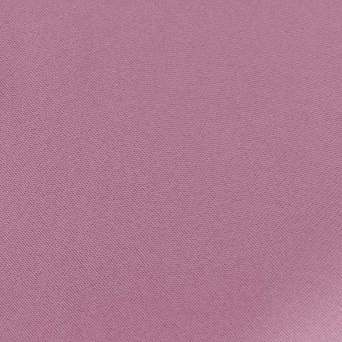 Deconovo Tende Camera da Letto Oscuranti Termiche Isolanti con Occhielli per Casa Moderne 132x183cm 2 Pannelli Rosa