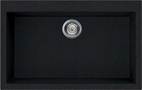 Elleci Quadra 130 Lavello Antracite 59 79x50x21 cm