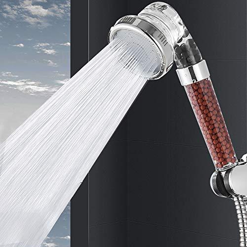 Filtro Ionico Soffione Doccia Alta Pressione  Risparmio di Acqua del 30 3 Modi Anione Filtrazione Palmare Spray Doccia Imposta per Skin SPA