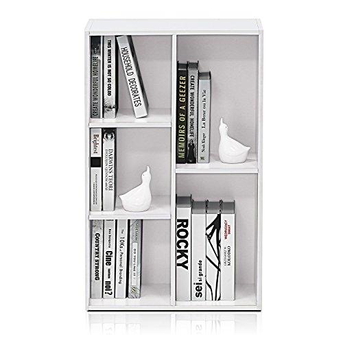 Furinno 11069 Librerie Legno White 5Cube
