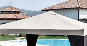 Giardini del Re Telo di Ricambio per Gazebo Bianco 300x300x2 cm