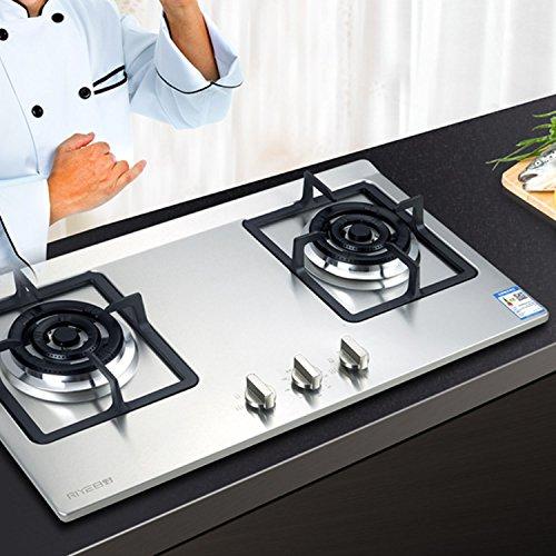 Gosear 4 PZ Metallo 6mm Argento Gas Stufa Controllo Manopole Adattatori Forno Interruttore Cucina Superficie Controllo Serrature