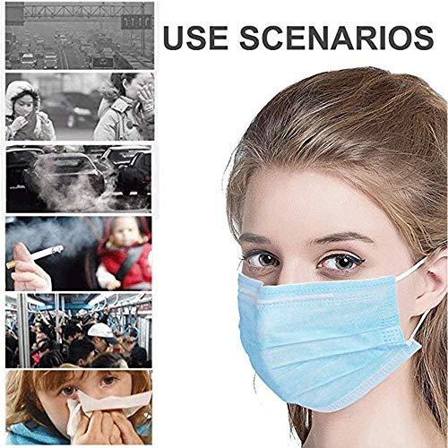 HACR Sacchetto Protettivo monouso 50 Pezzi per Sacchetto Tre Strati protettivi per prevenire Polvere e Gocce NellAria