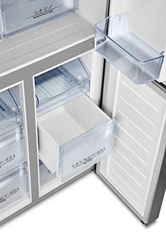 Hisense RQ563N4AI1 Frigorifero 4 Porte Total No Frost Classe Energetica A Capacit 432 L 40 Decibel Finitura Inox