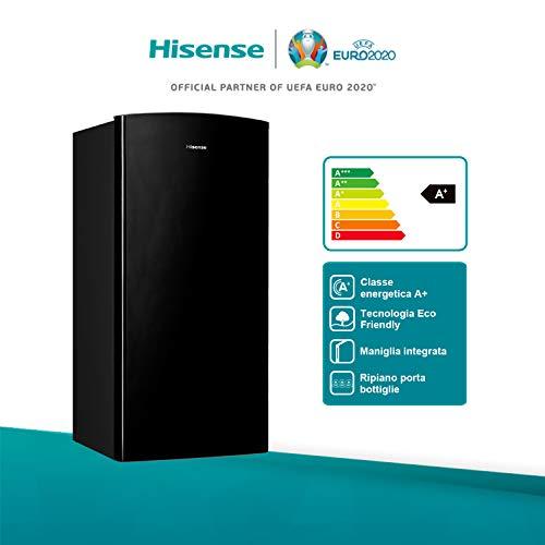 Hisense RR195D4DB1 Frigorifero Monoporta con comparto Freezer 3 150 Litri 43 Decibel Senza installazione Nero