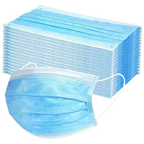 Hoco  50 pezzi monouso formato per viso libero colore blu