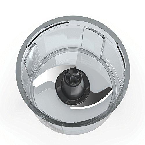 Imetec CH 500 Tritatutto Lame in Acciaio Inox Contenitore 400 ml Funzionamento a Pressione Compatto 350 W