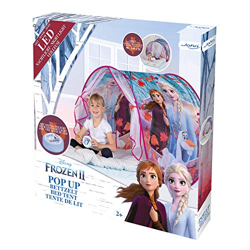 John Dream On Regina del ghiacco Anna Elsa Pop up Gioco Tenda Letto da Sogno Frozen 2 Colore Viola 75209