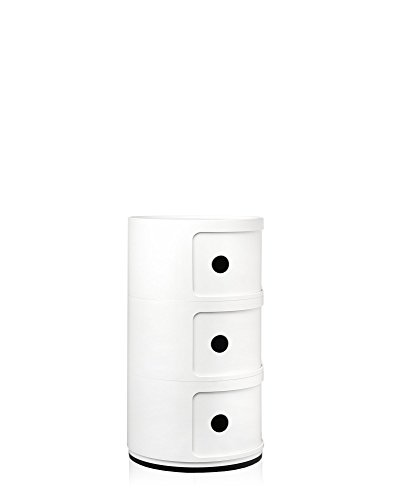 Kartell Componibili Contenitore ABS Bianco 32 x 32 x 585 cm