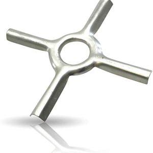 Kerafactum  Accessorio per fornello a gas a forma di stella riduttore per fornello da campeggio