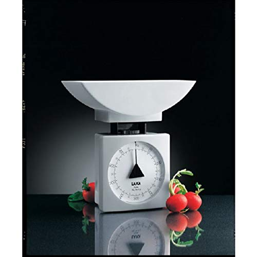 Laica K711 Bilancia da Cucina Meccanica 1 kg white plastica