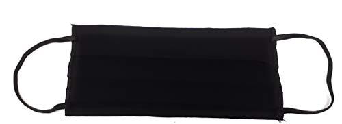 mascherina nera lavabile made in italy