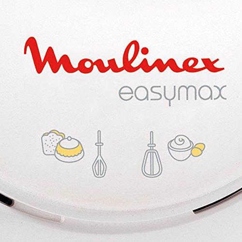 Moulinex ABM11A Easymax Sbattitore A 2 Velocit Con 2 Set di Fruste Montatura A Neve Degli Albumi