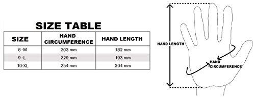 NITRAX BASIC 12 paia  Guanti da lavoro montaggio antiscivolo senza cuciture Comodi per riparazioni industria finissaggio auto officina Nitrile resistenza a grassi