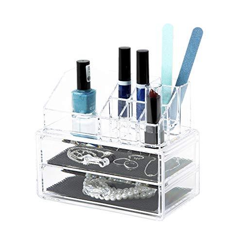 OrdinareCo Cosmetic Organizer Blocco 2 Cassetti