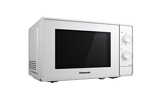 Panasonic NNE20JWMEPG Forno a Microonde 20 Litri diametro del piatto 25 cm 800 W 46 Decibel Bianco