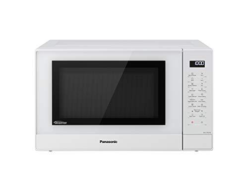 Panasonic NNGT45KWSUG Forno a Microonde Combinato Inverter con Grill 24 Programmi Automatici Junior Menu Sensore di umidit 1000 W 31 Litri 66 Decibel 7 velocit Bianco