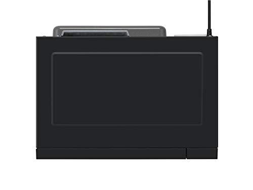 Panasonic NNGT46KBSUG Forno a Microonde Combinato Inverter con Grill 24 Programmi Automatici Junior Menu Sensore di umidit Finitura a Specchio 1000 W 31 Litri 66 Decibel 7 velocit Nero