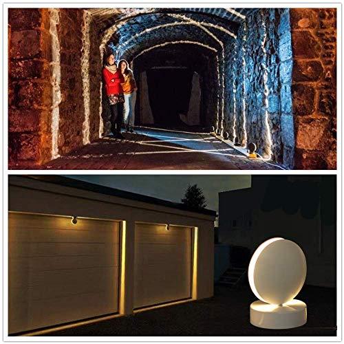 Plafoniera LED Soffitto Moderna Faretti a LED per interni 10W 3000K Bianco Caldo Applique da Parete Interno e EsternoModerno Adatto per Soggiorno Corridoio Pareti Interne ed Esterne Davanzale
