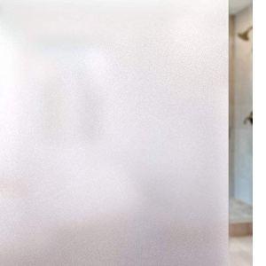 rabbitgoo Pellicola Privacy Pellicola Smerigliata Decorativa per Finestre VetriAutoadesiveAntiUVControllo di Calore per Ufficio Bagno Camera da Letto Sala di Riunione 90cm x 200cm