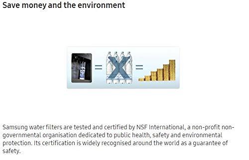 Samsung HAFEXEXP 2 x Filtri Acqua Aqua Pure Plus Ricambi Esterni per Frigorifero Bianco