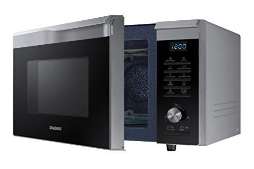 Samsung MC28M6075CS Forno Microonde Grill Combinato 28 Litri HotBlast 900 W Grill 1500 W Argento