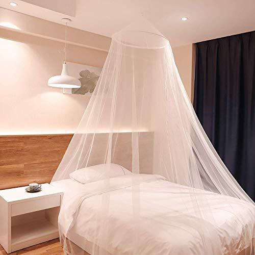 Sekey 60x220x850cm Zanzariera per letto singolo e doppio 1 ingresso in rete con zanzariera facile e veloce da installare