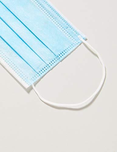 TBC Maschera Viso Monouso a 3 Strati Confezione da 50 Pezzi