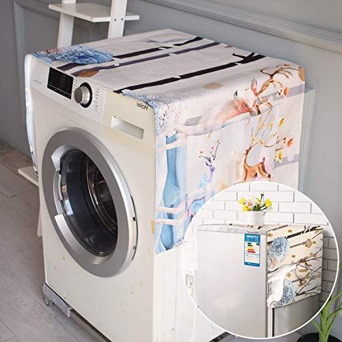Telo di coperturaCopertura antipolvere per frigorifero lavatrice panno protezione antipolverealce