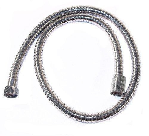 Tubo Flessibile Doccia Flessibile Doccia  1m argento