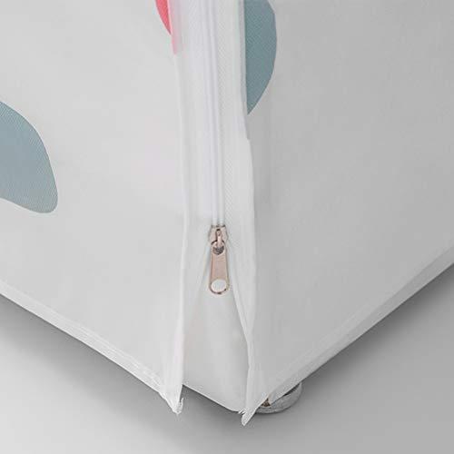 VOSAREA Coprilavatrice Verticale Impermeabile con Cerniera AntiSpruzzi e Anti Sunlight 575 x 56 x 87 cm