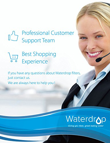 Waterdrop DA2900003G Sostituzione Cartuccia Filtro Acqua Frigorifero per Samsung Aqua Pure Plus DA2900003G DA2900003B DA2900003A DA9706317A HAFCU1XAA HAFIN2EXP APP1001 WSS1 WF289 1