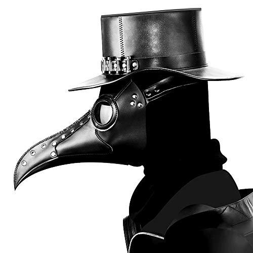 YouthUnion Halloween Maschere Steampunk Medico della Peste degli Uccelli retr Industriale Medievale Gotico Party Party per Uomo Donna Style1
