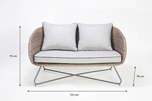 greemotion Daria Set Lounge da Giardino, Grigio