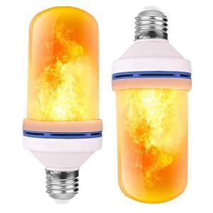Heatigo lampadina a LED effetto fiamma con 3 modalit di illuminazione per interni ed esterni luci decorative per giardini matrimoni feste di Halloween Natale base 4W E27 E27 400W