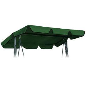 OTOTEC Copertura per Dondolo da Giardino e Amaca 197 x 110 cm 192 x 133 cm 169 x 115 cm Green 197x110cm