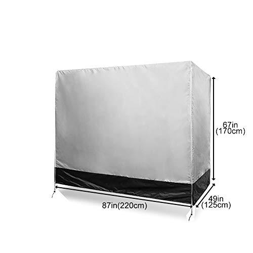 Protezione dai Raggi UV Copertura per Amaca Antipolvere Triangolare Beige Fushida FOYZ01 Copertura per Dondolo da Giardino Impermeabile