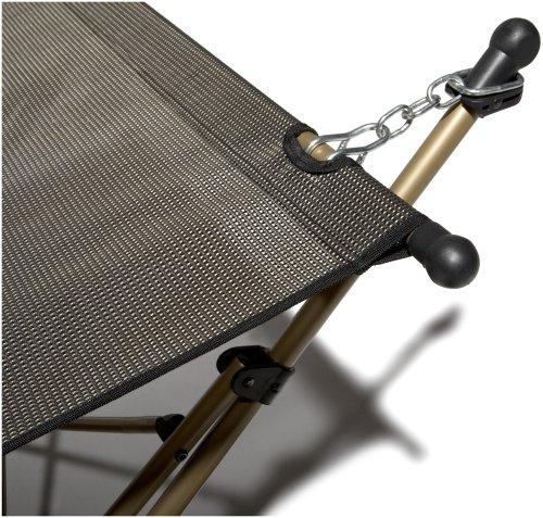 Strathwood Basics  Amaca pieghevole e portatile con custodia colore Marrone con struttura beige