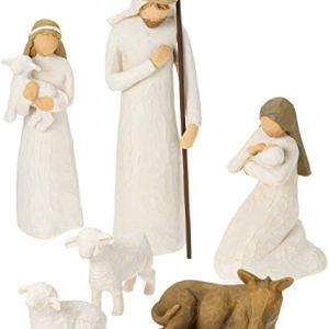 Willow Tree 26005 Figurine Nativit Resina Design di Susan Lordi