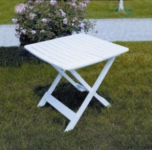 tavolo pieghevole per il giardino