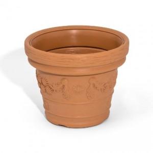 vaso in terracotta per il giardino