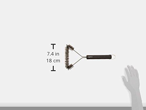 AmazonBasics - Spazzola a 3 Lati per Barbecue, 30.5 cm