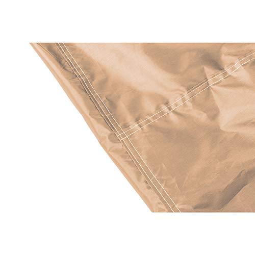QEES Copertura per Dondolo a 3 posti Resistente e Impermeabile Copertura per Dondolo a baldacchino Copertura per mobili da Giardino