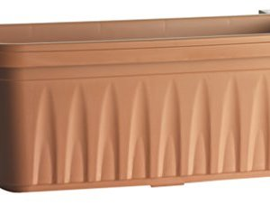 Bama 30270 Fioriera Rondine Set 2pz Terracotta 50x20x185 cm
