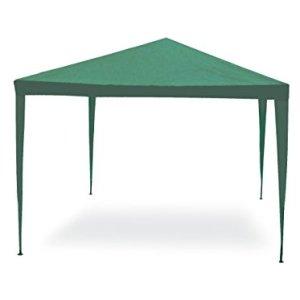 Garden Friend G1617001 Gazebo 3 x 3 m Struttura in acciaio copertura in pe 110 grm Verde