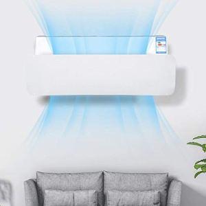 ALaSou Condizionatori a Parete DeflettoreAria condizionata Vento deflettore dAria Deflettore Regolabile del Vento Prevenire Vento FreddoWhite