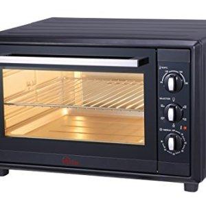 Ardes AR6260B Forno Elettrico Ventilato GUSTAVO 60 Litri Con Luce Interna 6 Funzioni Cottura Doppio Vetro con Accessori Nero 2200 W