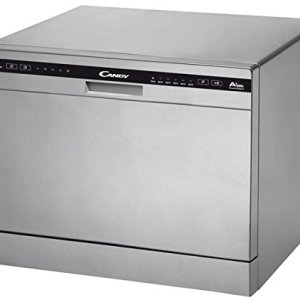 Candy CDCP 6ES Mini Lavastoviglie 438 x 550 x 500 mm Argento